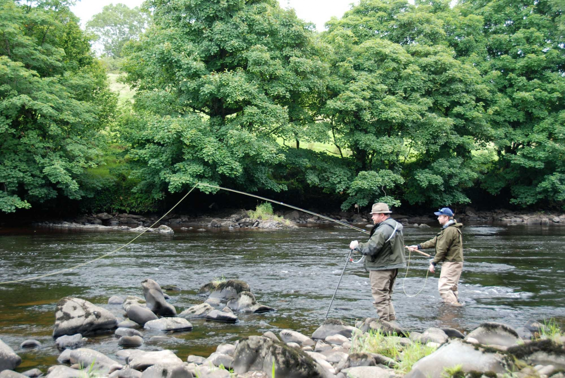 Salmon and Sea Trout Angling on the River Faughan, Northern Ireland