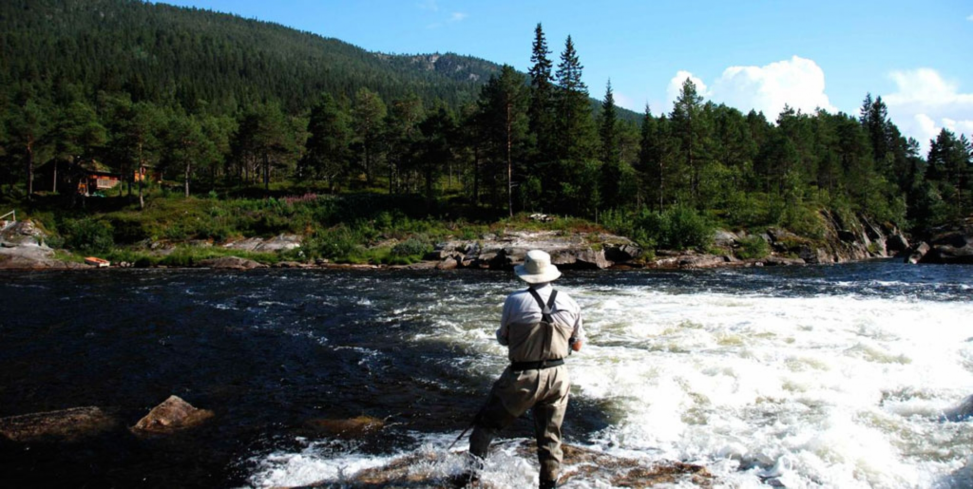 Salmon Fishing in Norway-Aunan Lodge on the Orkla River