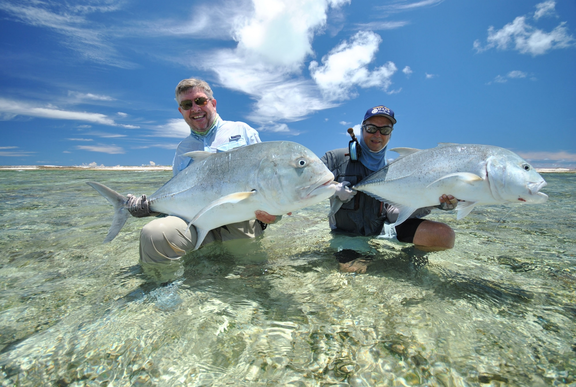 676a0923aa4 Astove Atoll - The home of monster flats caught Giant Trevally ...