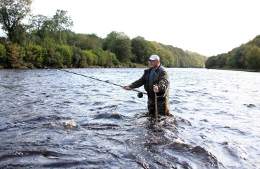 Ireland Fishing River Mourne Salmon and Trout fly fishing